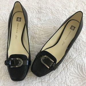 Anne Klein iflex Fabrice Buckle Shoe Sz 9
